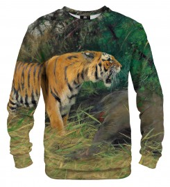 Mr. Gugu & Miss Go, Tiger and its prey sweater аватар $i