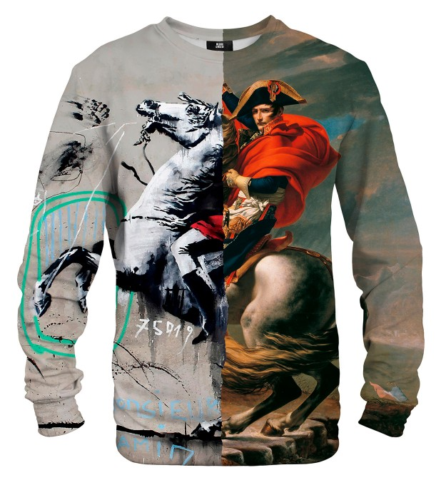 Napoleon Crossing Street Art sweater Thumbnail 2