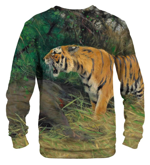 Tiger and its prey sweater Miniatura 2