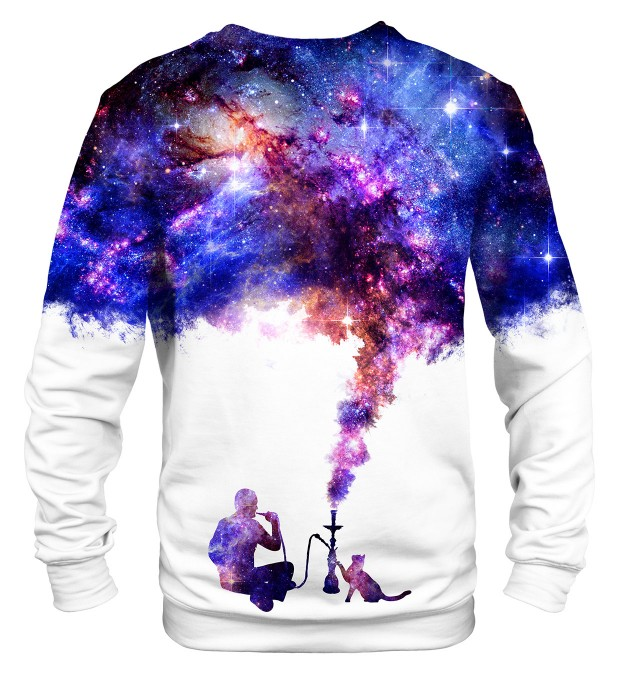 Space Let's Smoke sweatshirt Miniaturbild 2