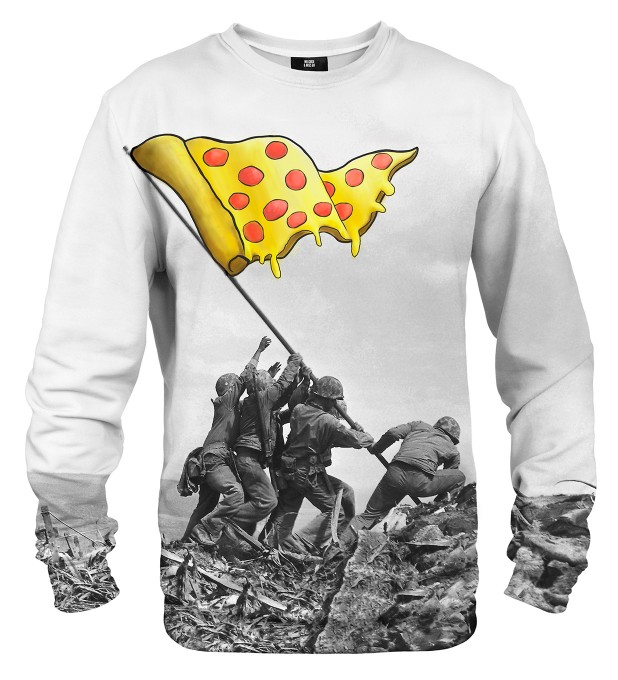 Raising pizza flag sweater Miniatura 1