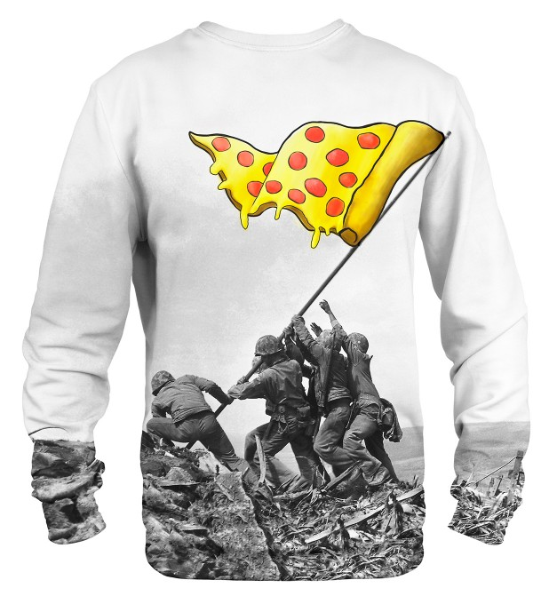Raising pizza flag sweater Miniatura 2