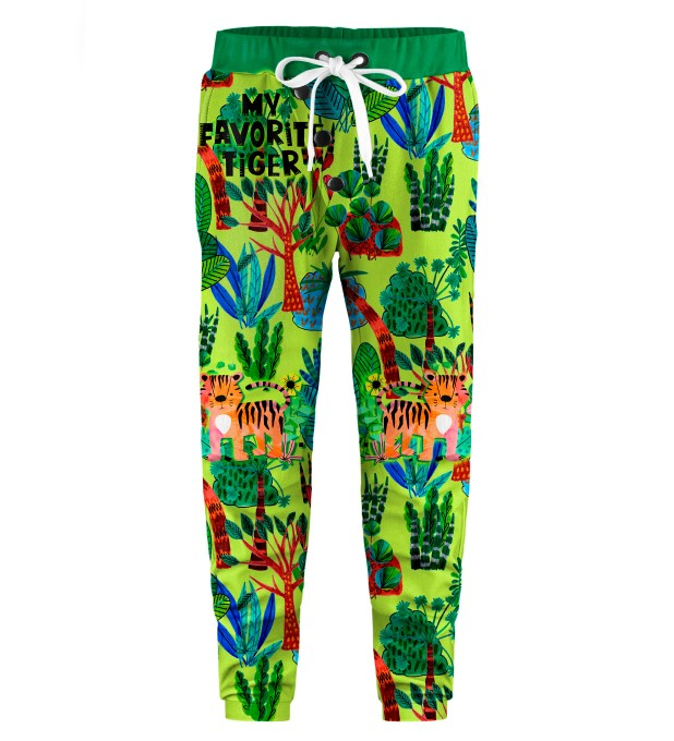 Cartoon Tiger Kids Joggers Miniature 1