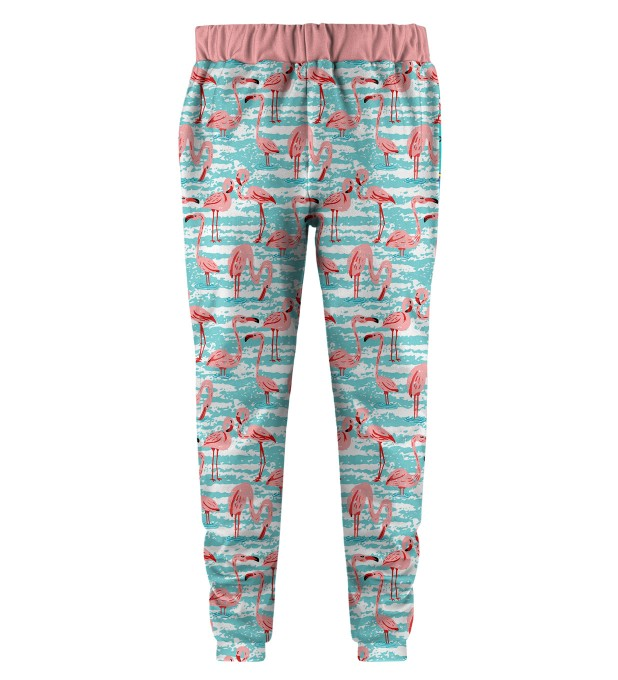 Flamingo Pattern Kids Joggers Thumbnail 2