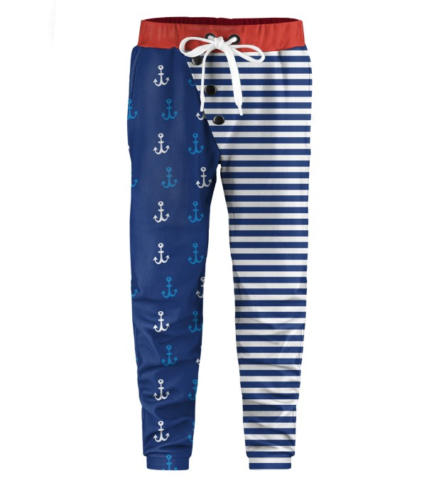 Sea Pattern Kids Joggers Thumbnail 1