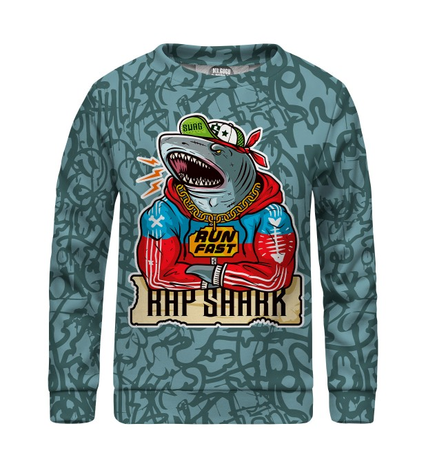 Rap Shark sweater for kids Thumbnail 1
