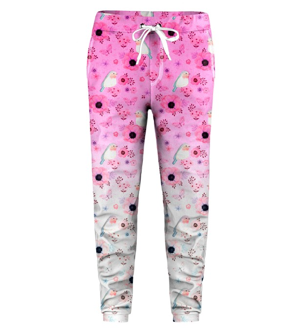 Robin Pattern Kids Sweatpants Miniatura 1
