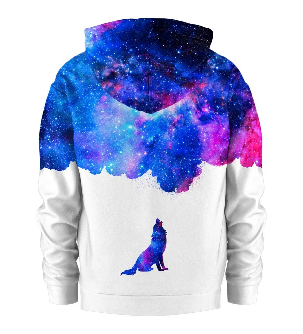 Howling to galaxy Kids Hoodie Thumbnail 2