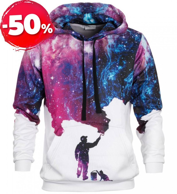 Galaxy Picture hoodie Miniatura 1