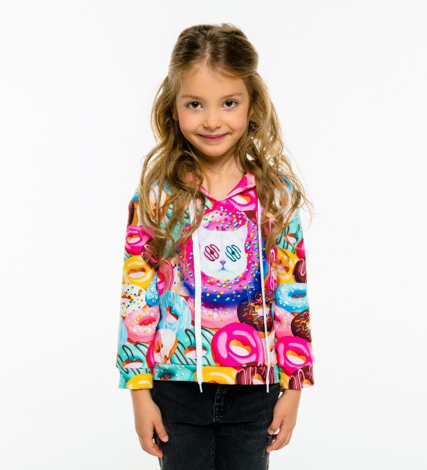 Donut Cat Kids Hoodie аватар 1