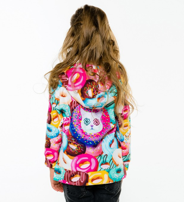 Donut Cat Kids Hoodie аватар 2