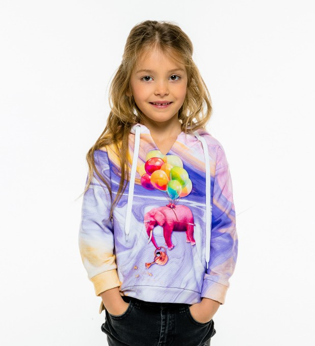 Elephant Balloons Kids Hoodie аватар 1