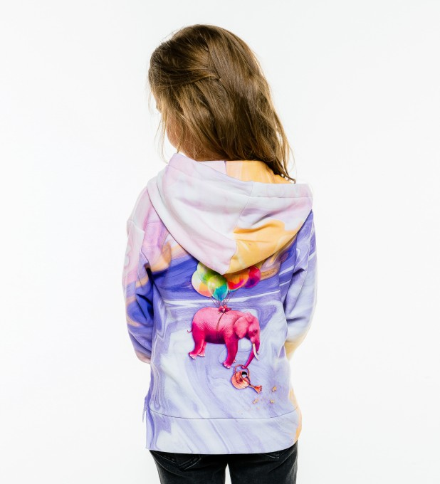 Elephant Balloons Kids Hoodie аватар 2