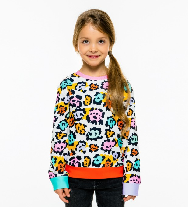 Colorful Panther sweater for kids аватар 1