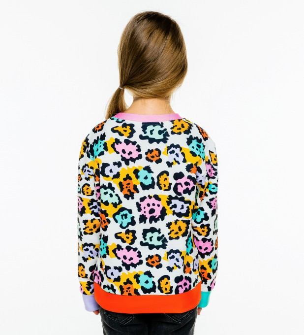 Colorful Panther sweater for kids аватар 2