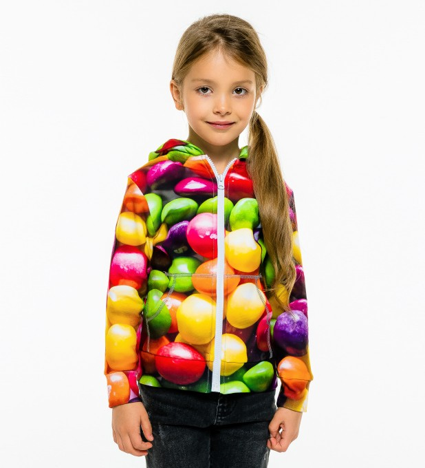 Sweets Kids Zip Up Hoodie Miniature 1