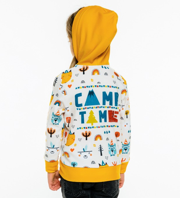 Camp Time Kids Zip Up Hoodie Miniature 1