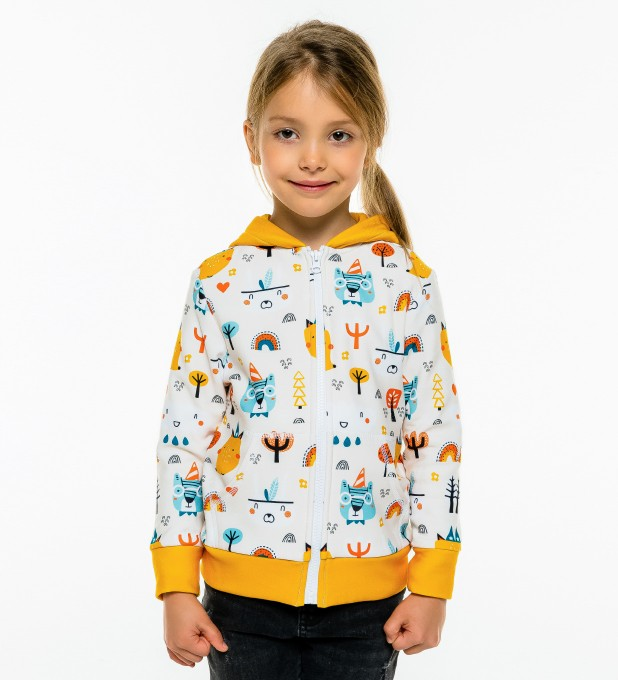 Camp Time Kids Zip Up Hoodie Miniature 2