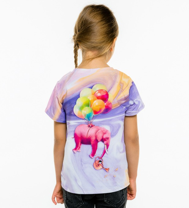 Elephant Balloons t-shirt for kids Thumbnail 2