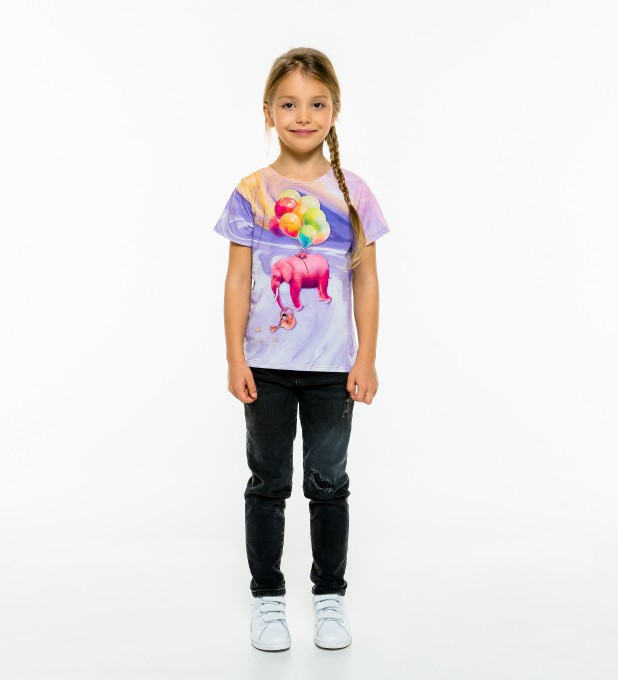 Elephant Balloons t-shirt for kids Miniature 1
