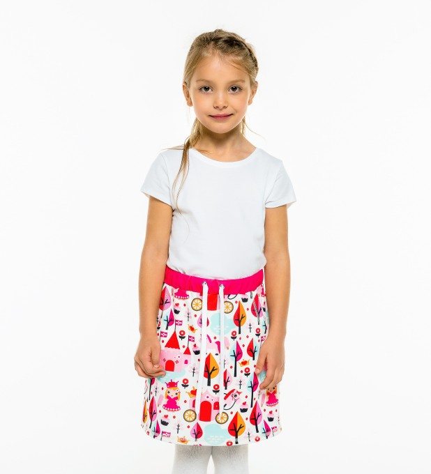 Princess Pattern Skirt for kids Thumbnail 1