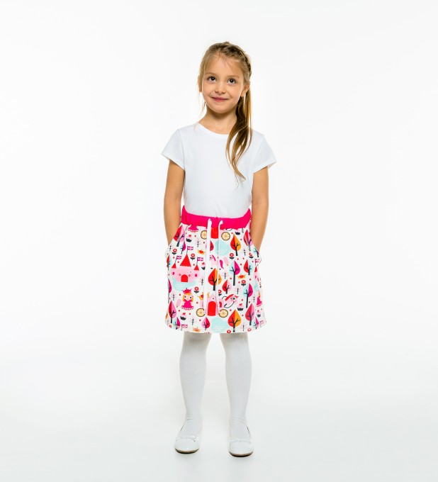 Princess Pattern Skirt for kids Thumbnail 2