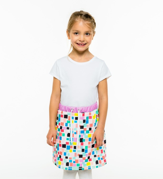 Rectangles Skirt for kids Thumbnail 1