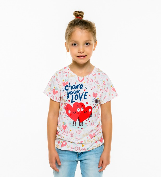 Love Selfie t-shirt for kids Thumbnail 1