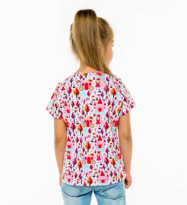 Princess Pattern t-shirt for kids Thumbnail 2