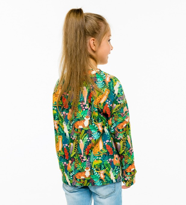 In the Jungle sweatshirt für Kinder Miniaturbild 2
