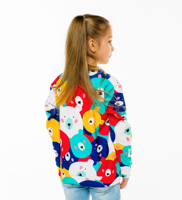 Colorful Bears sweater for kids Thumbnail 2