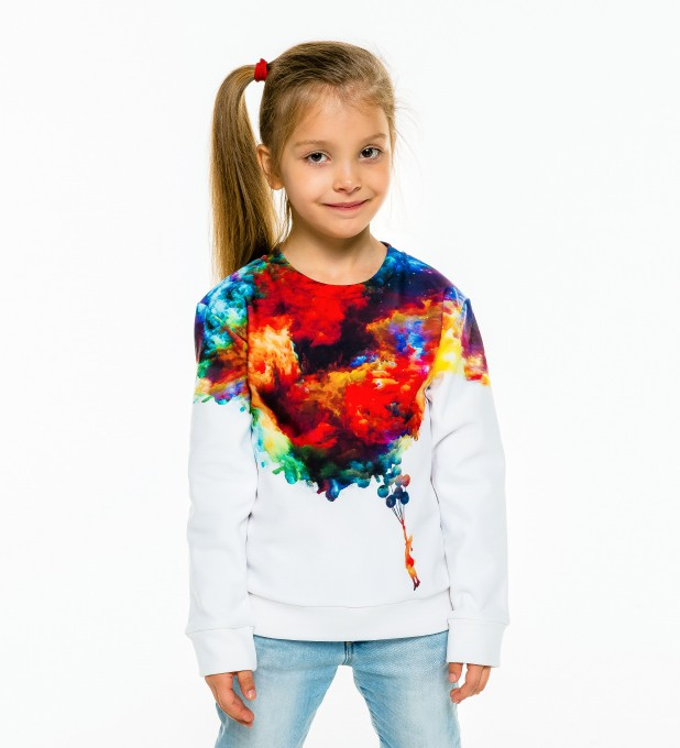With balloons to galaxy sweater for kids  аватар 1