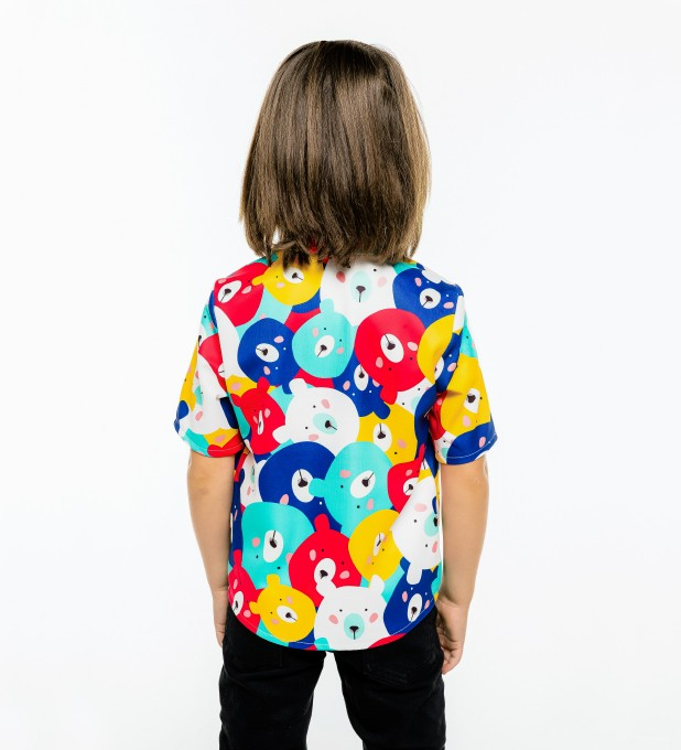 Colorful Bears Shirt for kids Miniature 2