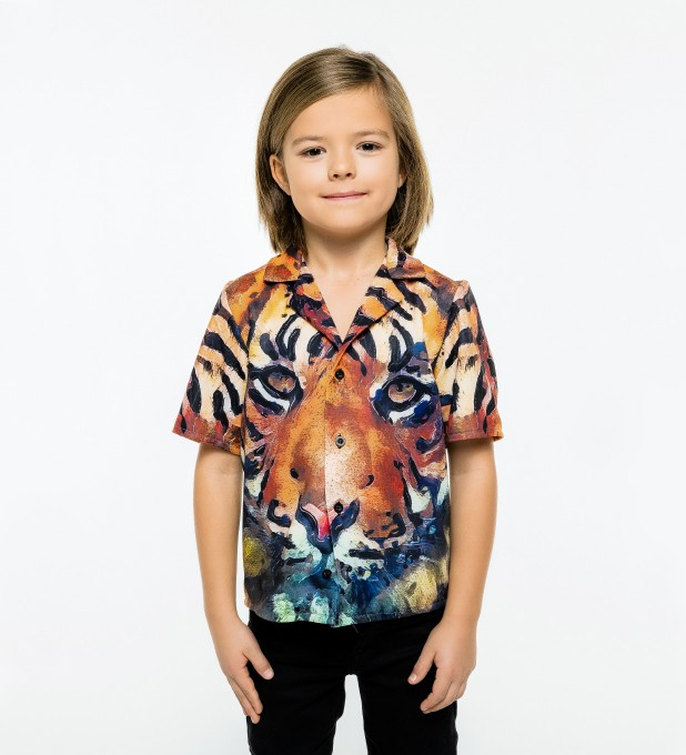 Aquarelle Tiger Shirt for kids аватар 1