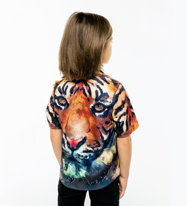 Aquarelle Tiger Shirt for kids аватар 2