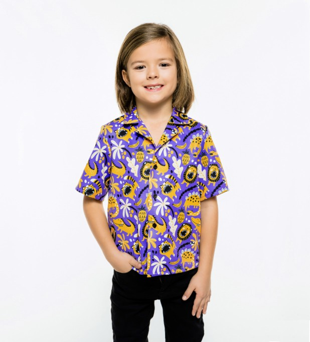 Dino Pattern Shirt for kids аватар 1