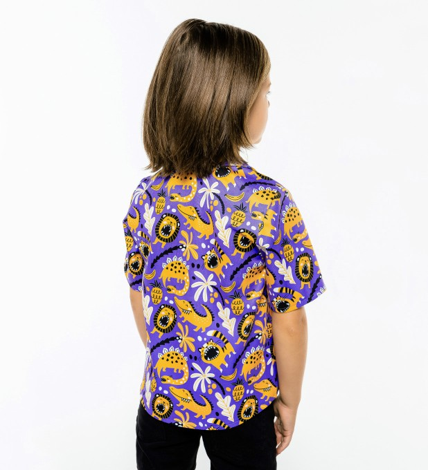 Dino Pattern Shirt for kids аватар 2