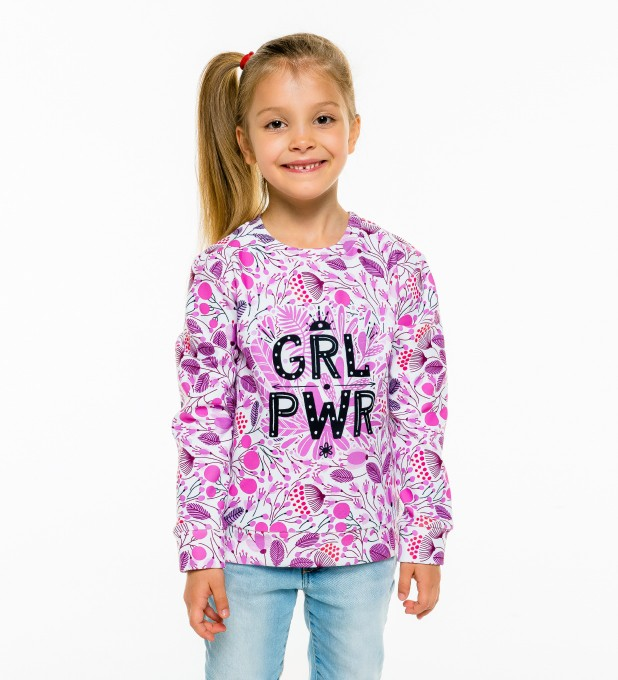 Grl Pwr sweater for kids Thumbnail 1