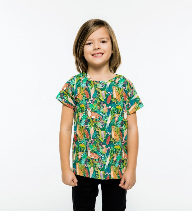 In the Jungle t-shirt for kids Miniature 1