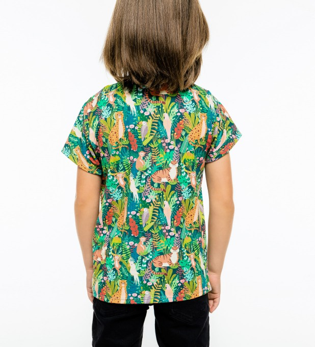 In the Jungle t-shirt for kids Miniature 2