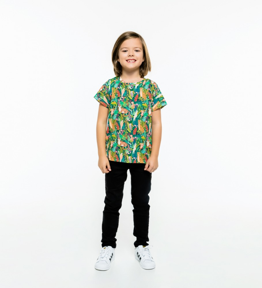 Mr. Gugu & Miss Go, In the Jungle t-shirt für Kinder Foto $i