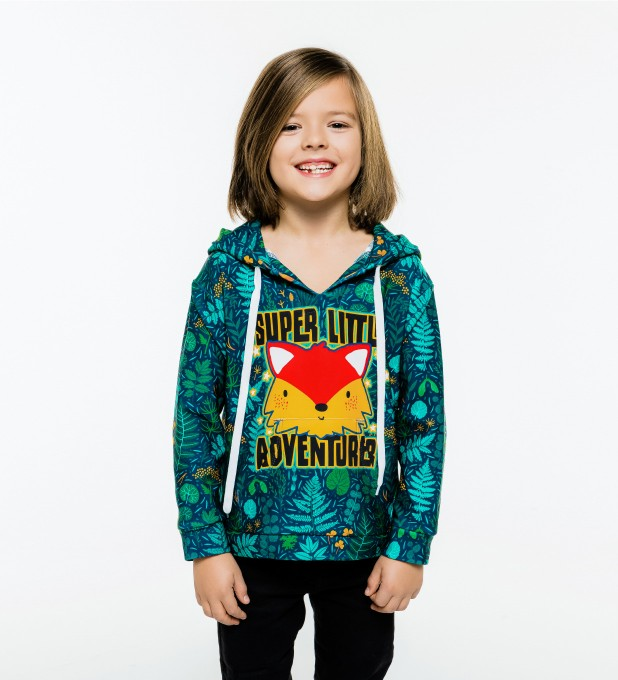 Super Little Adventure Kids Hoodie аватар 2