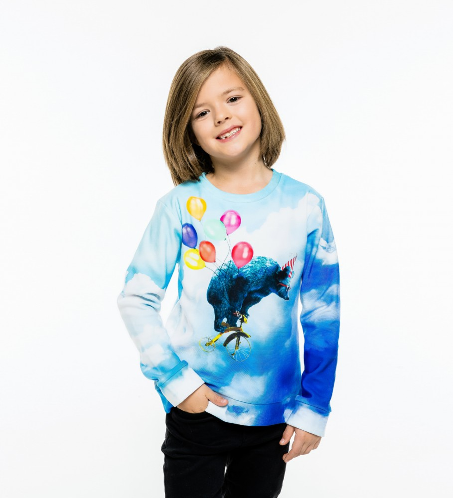 Mr. Gugu & Miss Go, Cloud Ride sweater for kids Imagen $i