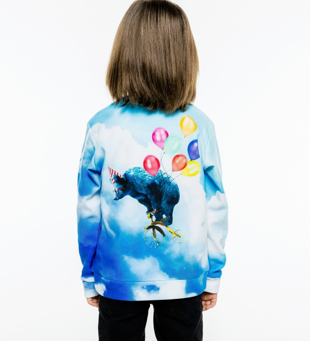 Cloud Ride sweater for kids Miniature 2