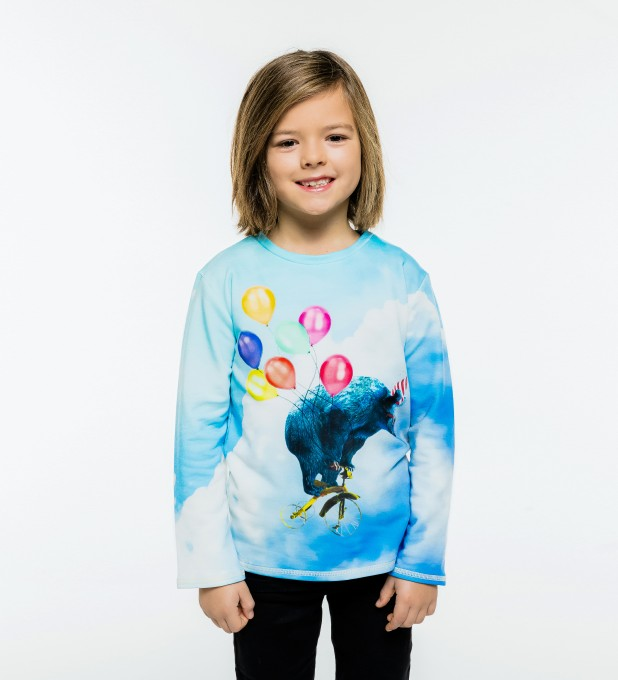 Cloud Ride Kinder Langarmshirt Miniaturbild 2