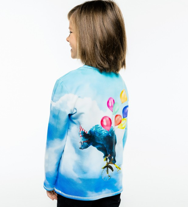 Cloud Ride Kinder Langarmshirt Miniaturbild 1