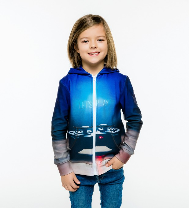 Gamer Kids Zip Up Hoodie Miniature 1