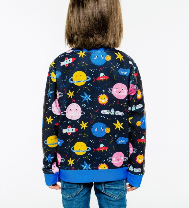 Funny Space sweater for kids Miniatura 2
