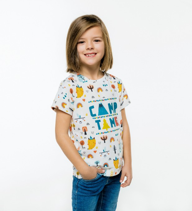 Camp Time t-shirt for kids Thumbnail 1