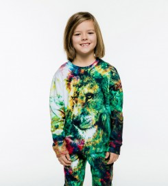 Mr. Gugu & Miss Go, King of Colors sweater for kids Miniature $i